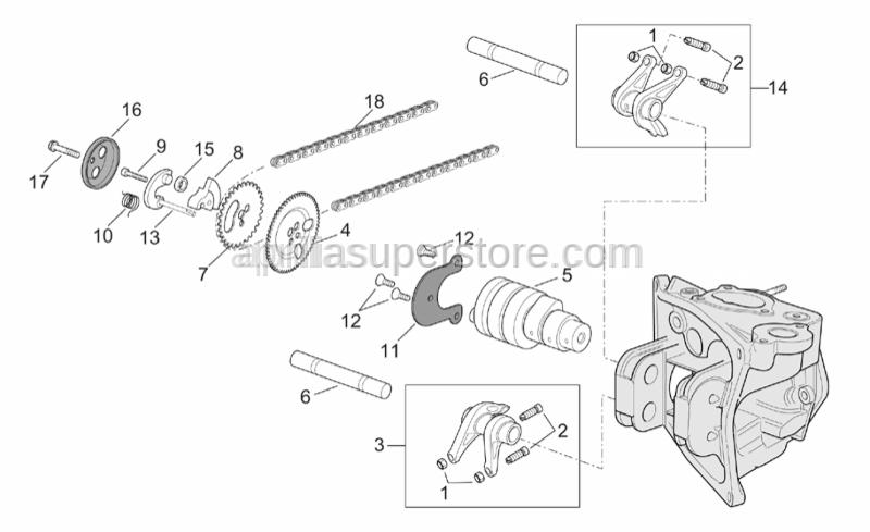 Aprilia - Wheel speed sensor,