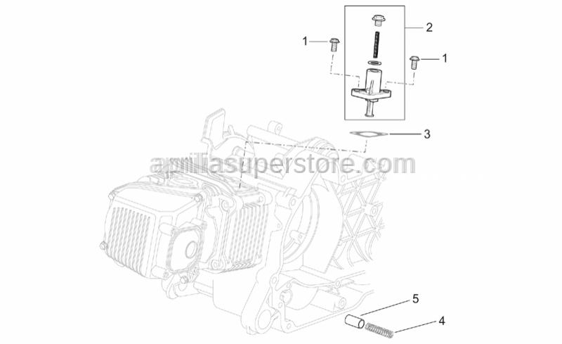 Aprilia - Oil pressure valve