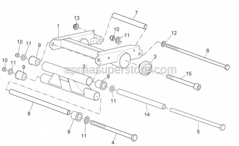 Aprilia - HEX SOCKET SCREW M12X90