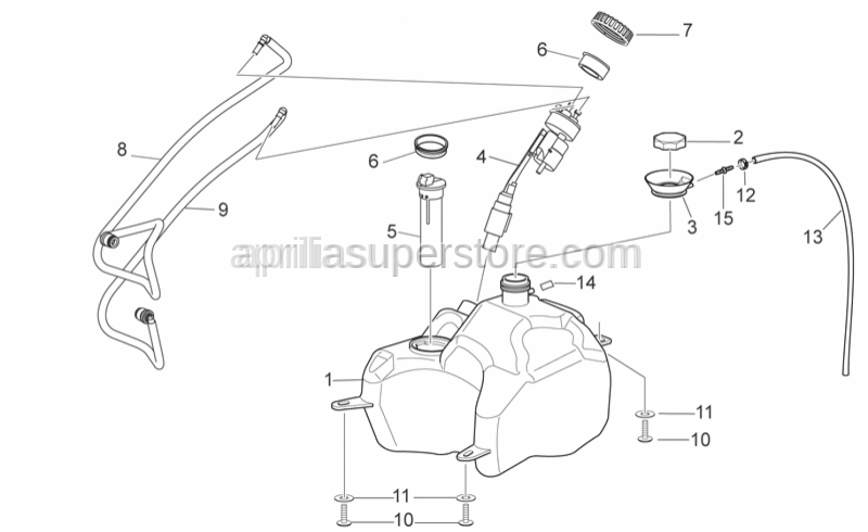 Aprilia - Fuel level sensor