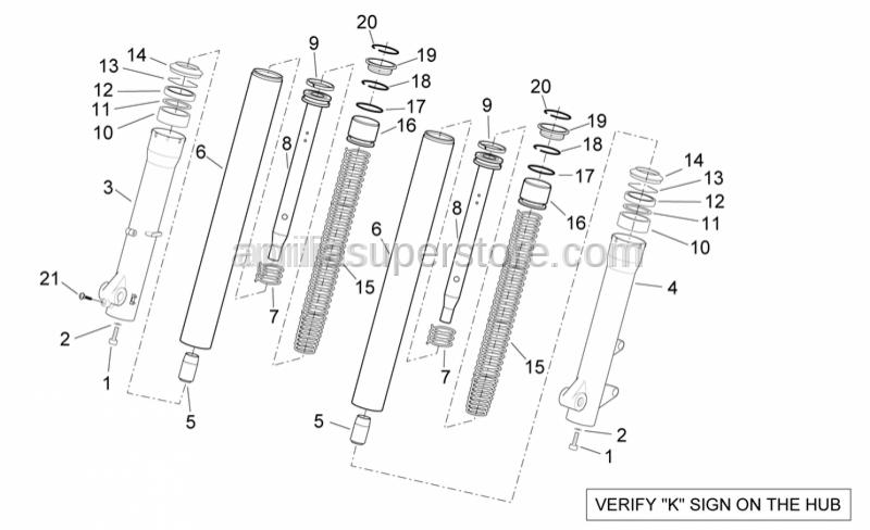 Aprilia - screw M10x30