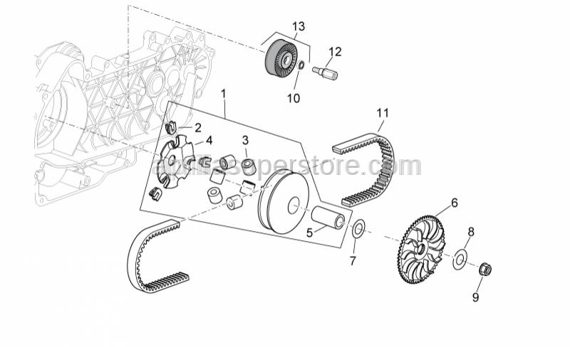 Aprilia - Ball bearing (35x10x11)