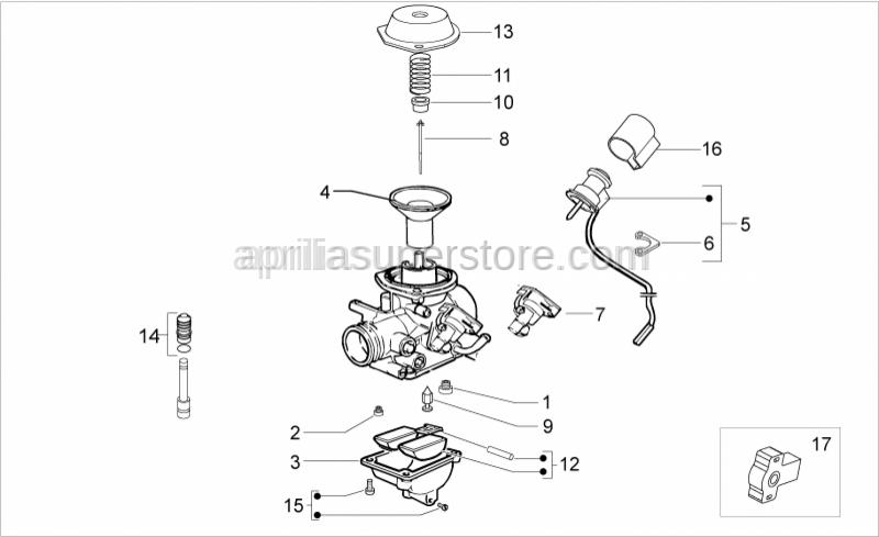 Aprilia - Complete automatic starter