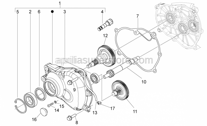 Aprilia - COUNTERSHAFT DNA 125