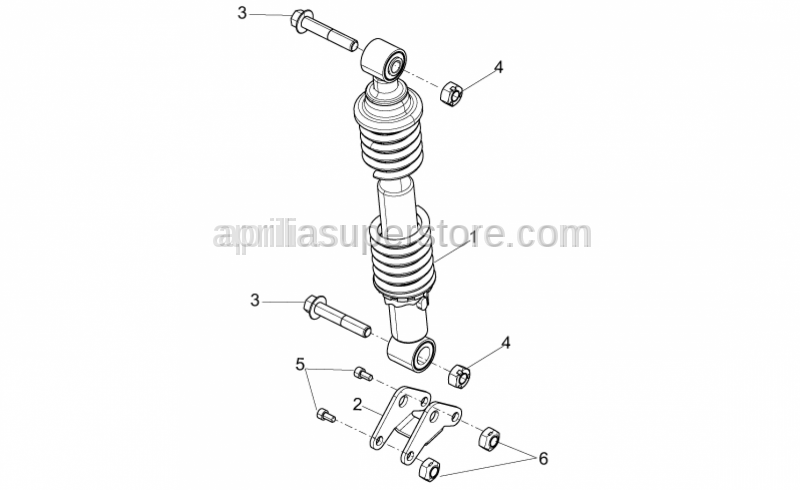 Aprilia - Shock absorber