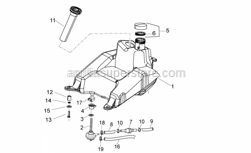 Aprilia - Vacuum filter