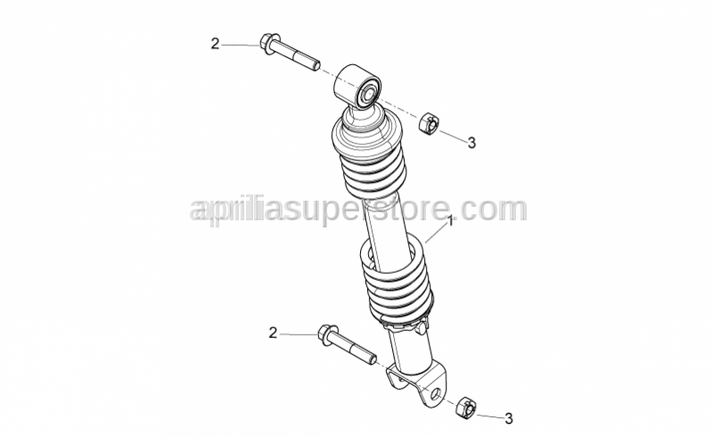 Aprilia - Self locking nut M10