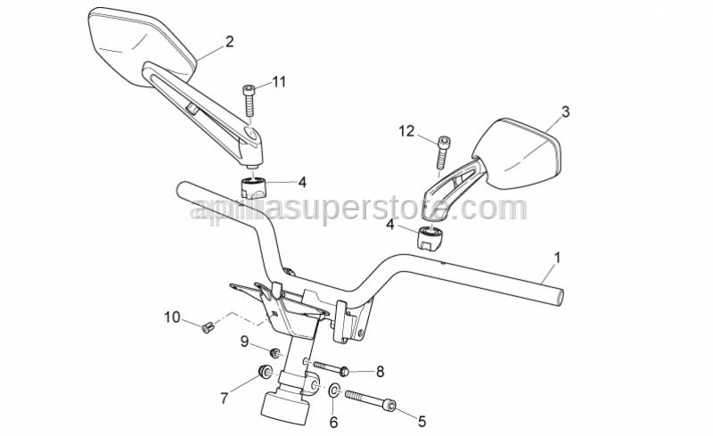 Aprilia - Screw M8 X 30 SX