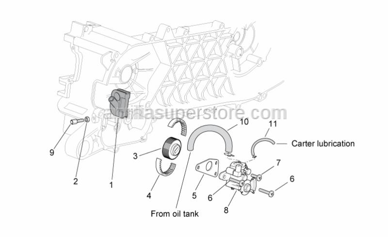 Aprilia - screw M5x21