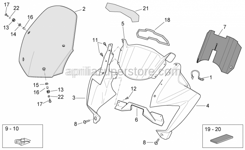 Aprilia - Washer 5,5x15x1,6