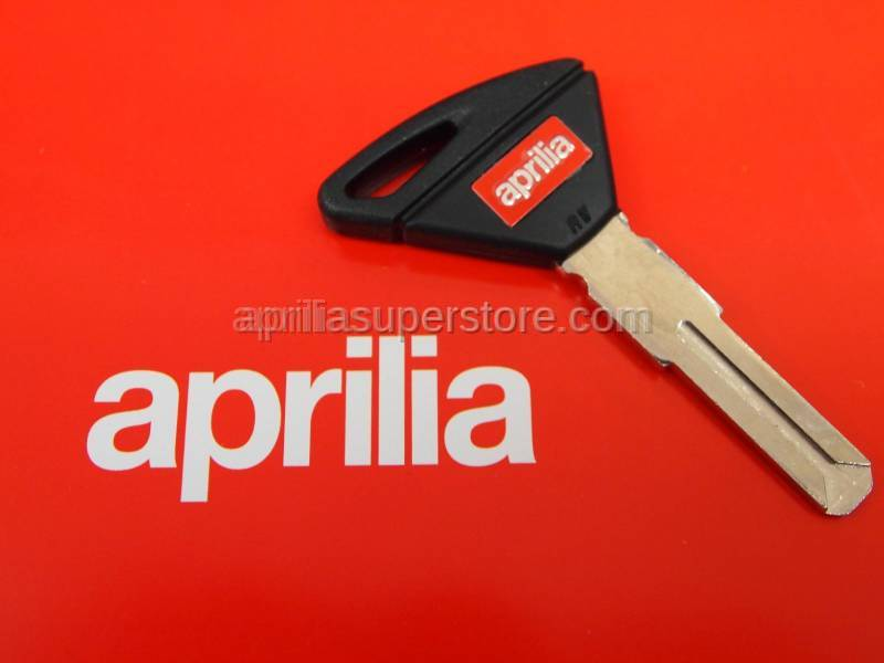 Aprilia - Aprilia key with transponder for 2004-2009 RSV and 2006-2010 Tuono.