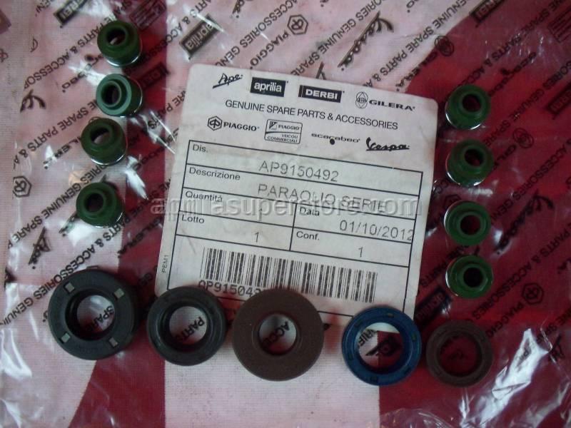 Aprilia - Oil seals - set
