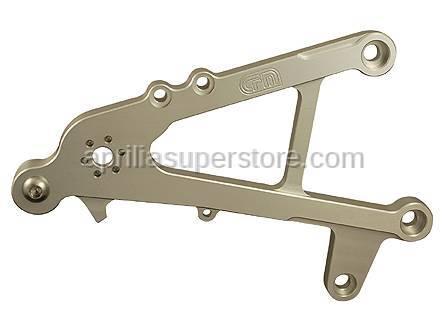 Woodcraft - Aprilia RS125 RH Rearset Bracket