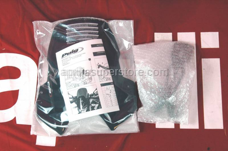 Puig - Racing Windscreen Black Dorsoduoro