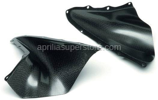 Aprilia - Air pullers, pair Carb.