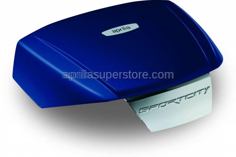 Aprilia - Topbx cvr coture blue, used wth CM220807