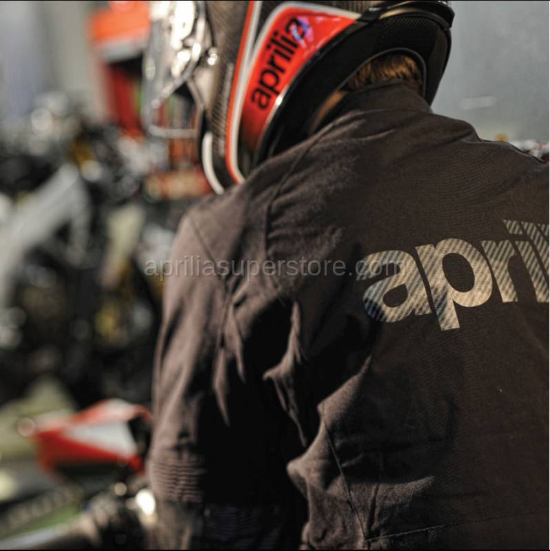 Aprilia - Collection 2012 Armored Jacket Black Size -S -M -L -XL -XXL