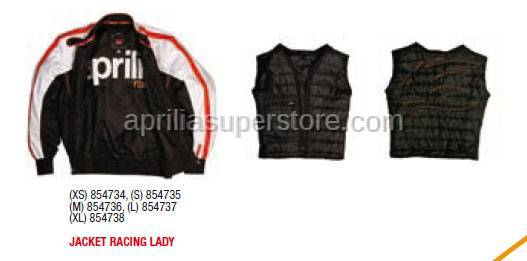 Aprilia - JACKET RACING LADY - XS -S -M