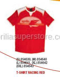 Aprilia - T-SHIRT RACING RED - XXL