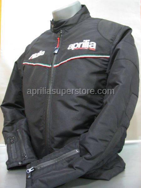 Aprilia - JACKET Black Padded Racing M