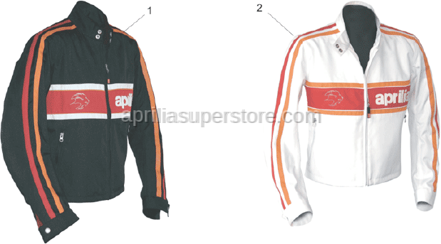 Aprilia - BOY JACKET -XL-