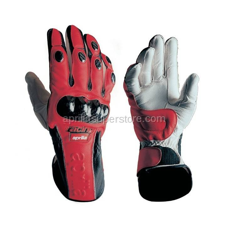 Aprilia - APRILIA RACING LEATHER GLOVES - XS -S