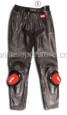 Aprilia - 2004 BLACK LEATHER PANTS