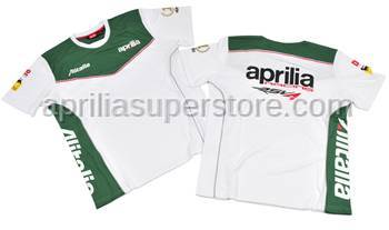 Aprilia - T-shirt White M/C XL