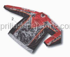 Aprilia Accessories - T-shirt cross-M