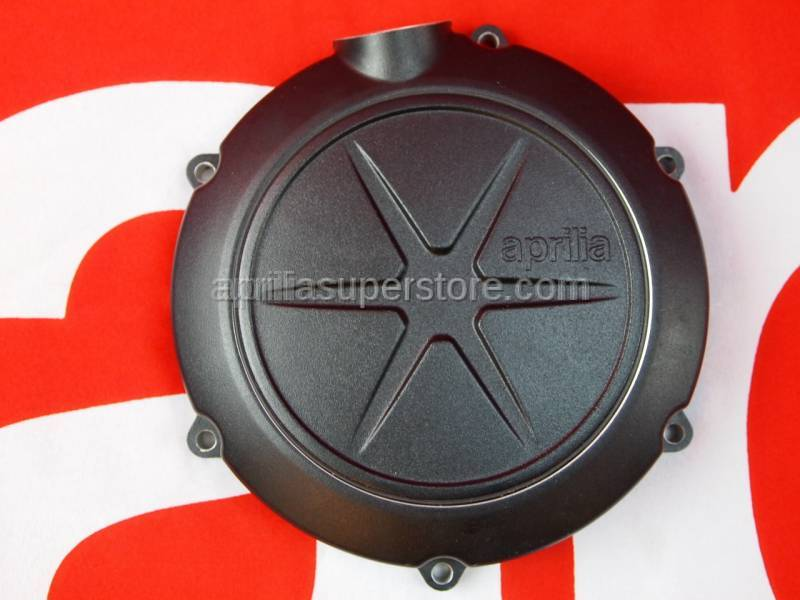 Aprilia - Clutch cover cpl., black