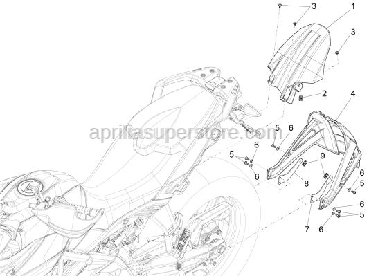 Aprilia - Spring plate m5