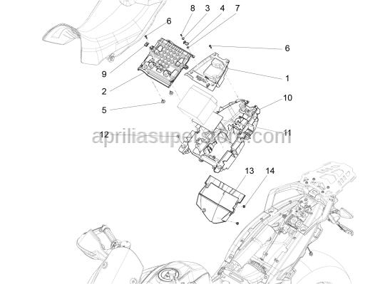 Aprilia - Washer 4,3x12x1