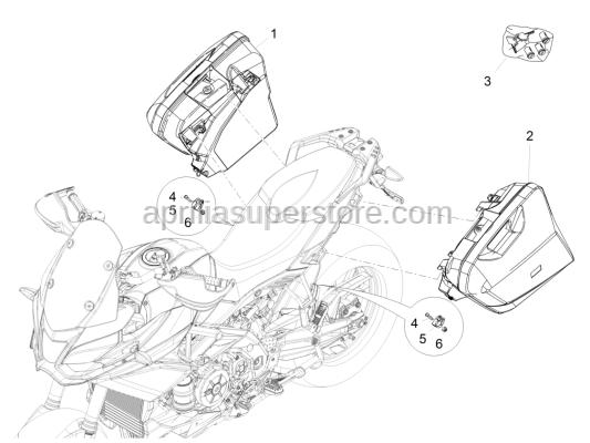 Aprilia - Shear rivet M8x40