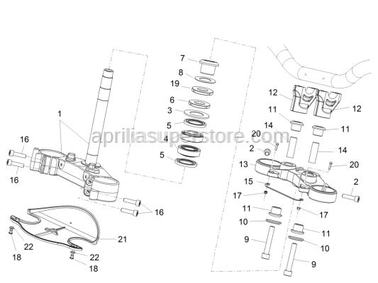 Aprilia - Hex socket screw M5x16