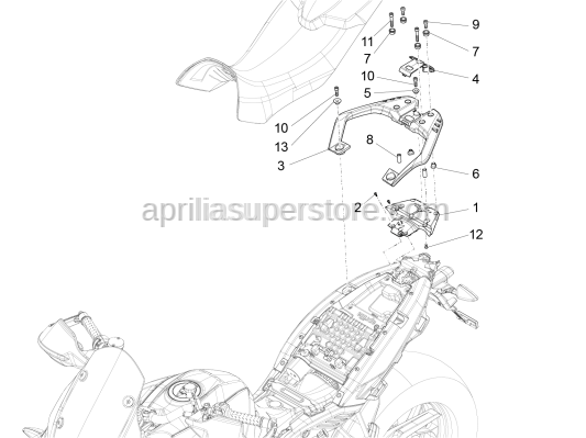 Aprilia - Self-tap screw 5x14