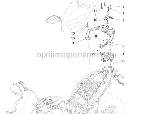 Aprilia - VITE TCEI M8X25