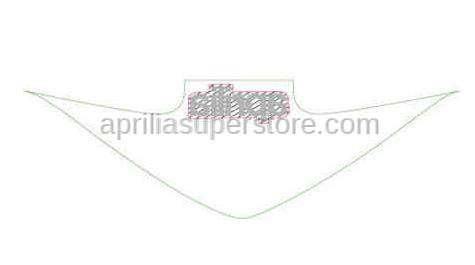 Aprilia - STICKER APRILIA WINDSHIELD