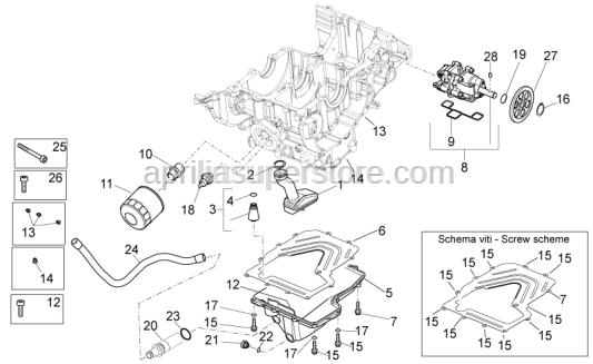 Aprilia - Safety washer D=21