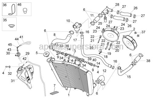 Aprilia - Hose clamp D10,1