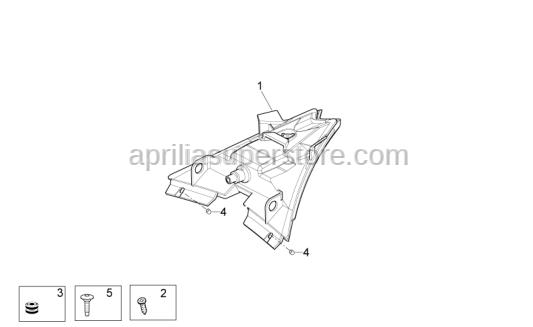 Aprilia - Bushing 5,3x8x7,1
