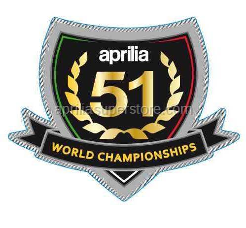 Aprilia - Decal 51 world championships