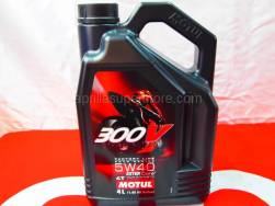 Motorcycle - Chemicals and Tools - Motul - Motul 300V 5W40 Fully Synthetic Oil 4 Liter