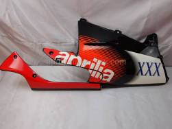 Frame - Central Body - Rh Fairings - Aprilia - RH lower fairing, black