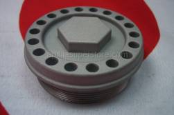 Engine - Lubrication - Aprilia - Oil filter cover