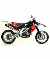 Arrow Special Parts - ARROW OFF-ROAD MX COMPETITION FULL SYSTEM WITH CARBON END CAP