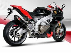 RSV4 1000 - OEM RSV 1000 4V SBK-FACT 2009-2010 PARTS - Akrapovic - Aprilia RSV4 Slip-On Line Muffler