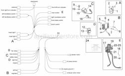 Frame - Electrical System I - Aprilia - T bush *