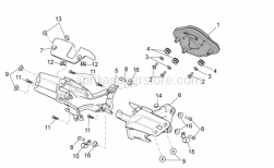 Frame - Dashboard - Aprilia - Hex socket screw M5x9