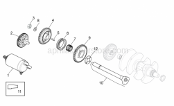 Engine - Ignition unit - Aprilia - Balance shaft