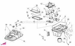 Frame - Air Box - Aprilia - Mobile system trumpets